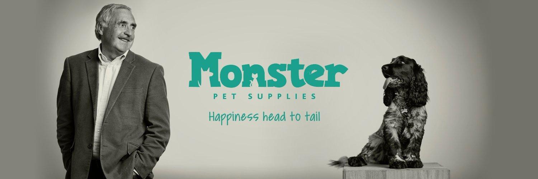 Monster Pet Supplies Banner